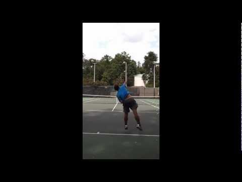 James Forehand P.2 and serve P.1