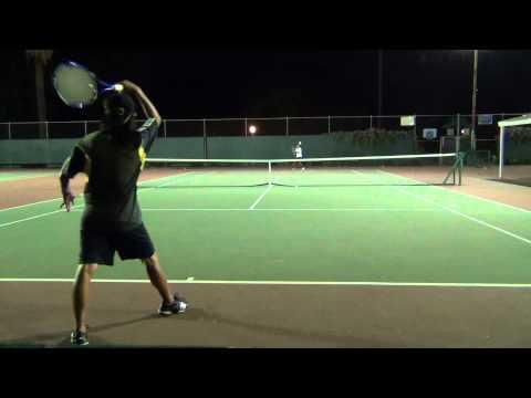 Nadal Forehand vs. Federer Forehand: Demo #5