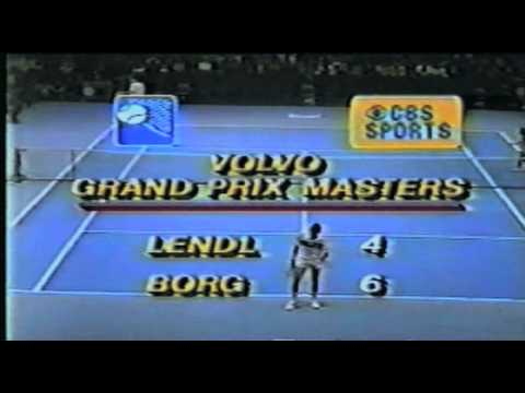 Björn Borg vs Ivan Lendl Masters F 1981