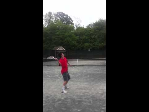 my serve about a year ago