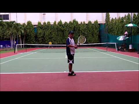 ITF Asia Open Grade 2 Men's 40s Second Seed Paul vs G