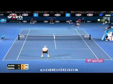 Djokovic Vs Berdych QF Australian Open 2013