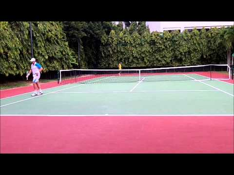 Asian Open Pattaya ITF Grade alvaro vs chris 2
