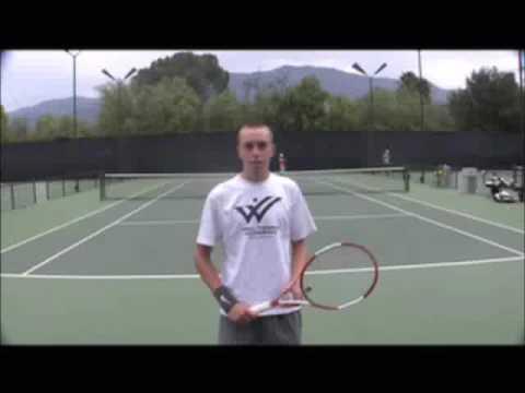 John Dunn's College Tennis Video Part 1 of 2