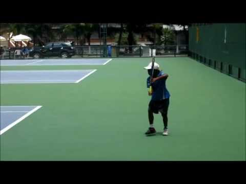 8 Year Old--Pro Prospect One Handed Backhand