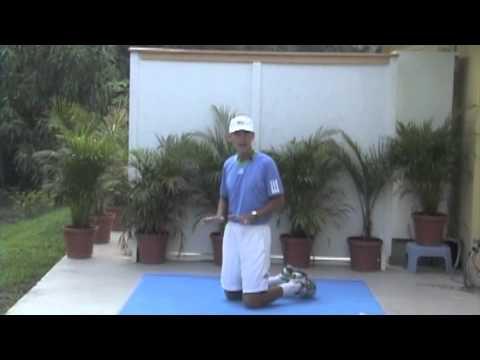 Roger Federer Tennis Workout by TomAveryTennis.com