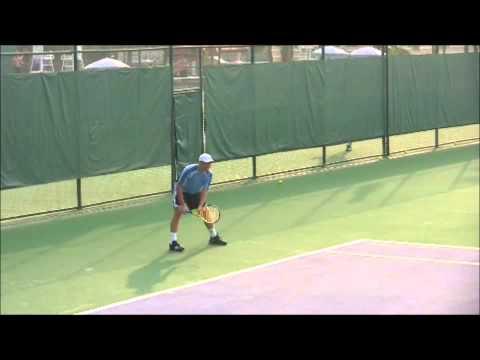Youhzny's Forehand Return--simpletennis.net