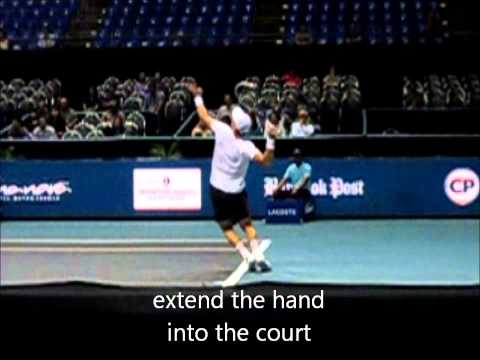 How to Serve Harder like Berdych