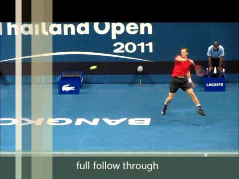 How to Hit the Forehand Harder:  Elbow Placement