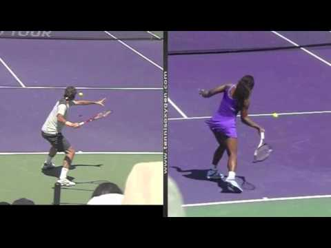 The ATP Forehand versus the WTA Forehand & the evolution of the Forehand