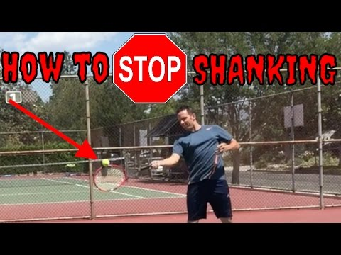 How to Stop SHANKING The Ball | Clean, Powerful Tennis Strokes