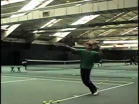Two-racket Tennis Serve: Kaboom!!