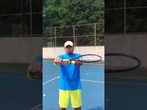 Hit perfect backhands