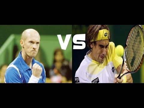 Ferrer vs Davydenko FULL MATCH