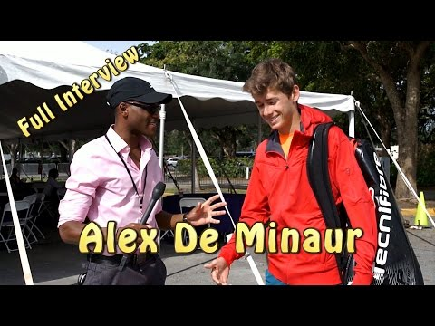 FULL INTERVIEW: Alex De Minaur