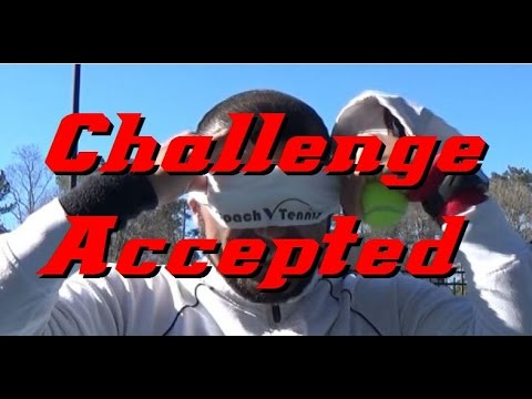 challenge accepted!!!! CoachV VS. Essential Tennis