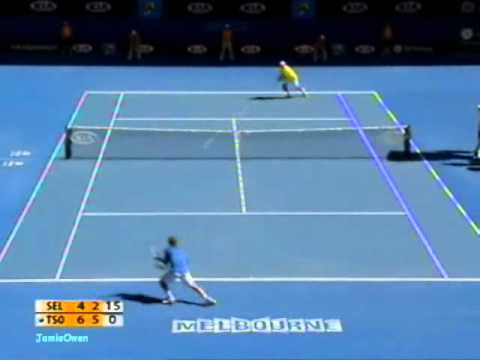 Jo Wilfred Tsonga vs Dudi Sela 2009 AO Highlights