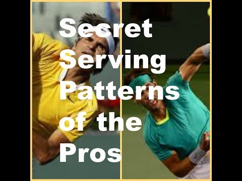 The Serve: Secret Serving Patterns of the Pros