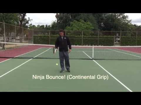 Tennis Warm-up of champions!