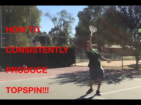 How to CONSISTENTLY produce topspin!