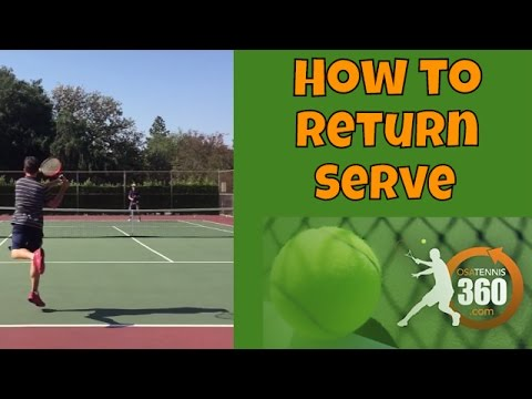 How to Return Serve in Tennis