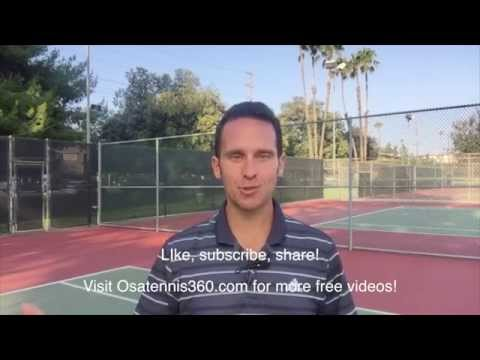 Tennis Serve Coordination Drill