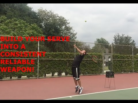 Build your serve into a consistent, reliable, WEAPON!
