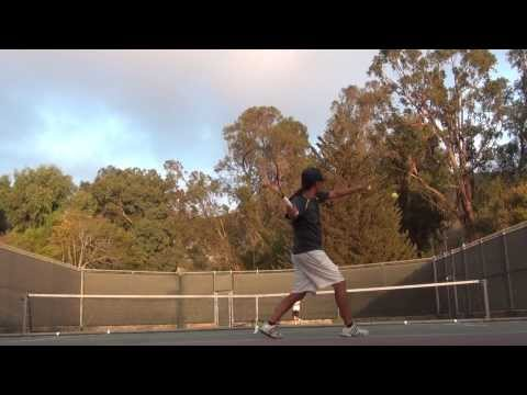 My backhand and forehand derived from Gasquet, Kuerten and Djokovic mechanics #3