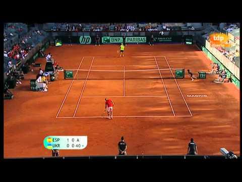 Nadal vs Stakhovsky Davis Cup 2013