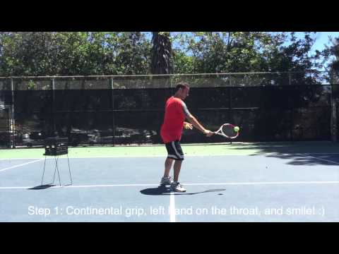 Master the backhand slice!