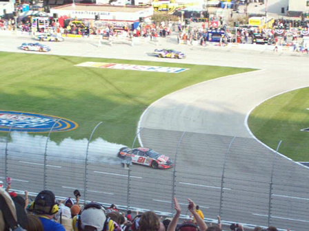 Harvick Burnout