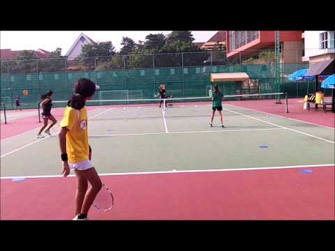 How to Play Doubles:  Mindless Drills:  Return of Serve--First Volley