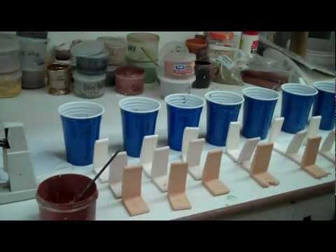 Easy Glaze Testing (Part 2 color blend)
