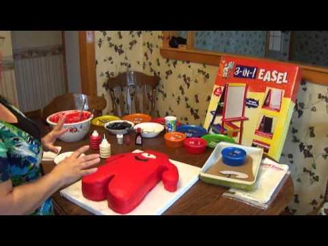 Animated Character Cake