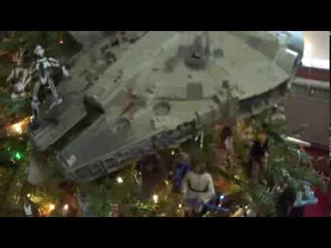 Star Wars Christmas Tree Display