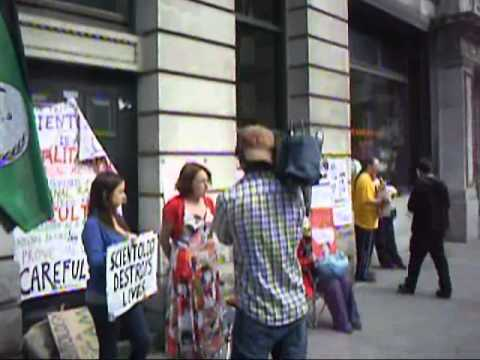 Dublin protest, August 2011