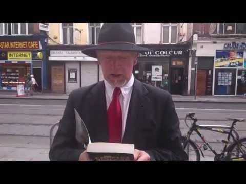 July 2014 Dublin Anti-Scientology protest