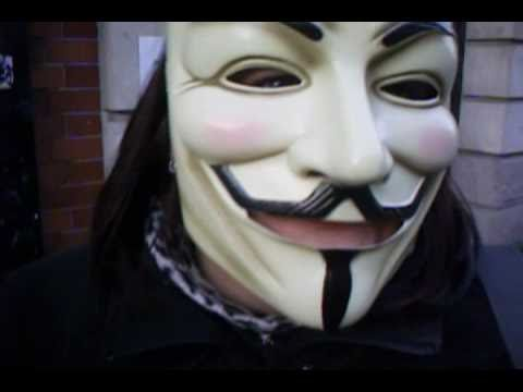 Dublin protest, Halloween 2010