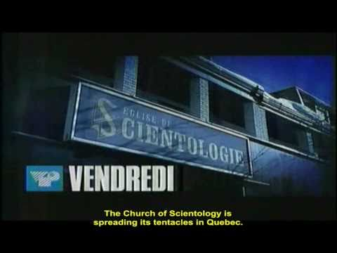Hidden-camera investigation of Scientology in Quebec (Promo)