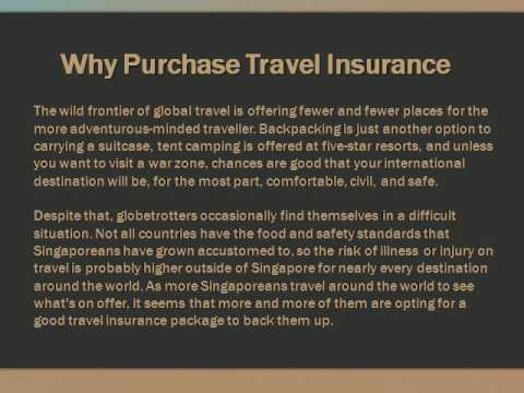 Why Purchase Travel Insurance