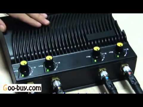 電波妨害装置と妨害機 Wi-Fi対応!!携帯電話電波遮断機