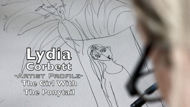 Lydia Corbett -Artist Profile-The Girl With The Ponytail