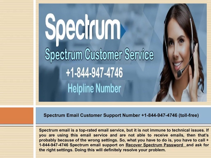 Call us now +1-844-947-4746 Spectrum Support Number to resolve your Spectrum email issue