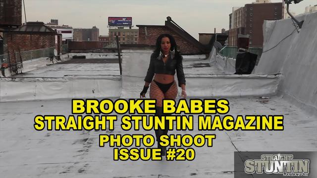 Brooke Babes - Straight Stuntin Magazine Shoot