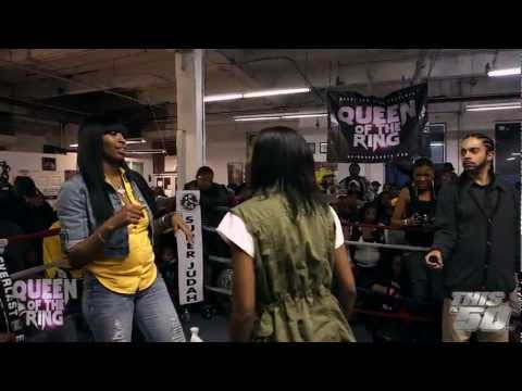 "VAGUE & BABS: ""QUEEN OF THE RING""  MS HUSTLE vs QB BLACK DIAMOND 