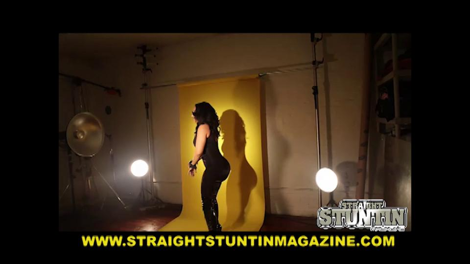 Bubbles The Model - Straight Stuntin Magazine Shoot