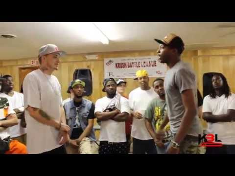 BATTLE RAP - Tommy Fishscale vs Blaqu Mugga   Krush Battle League aka KBL