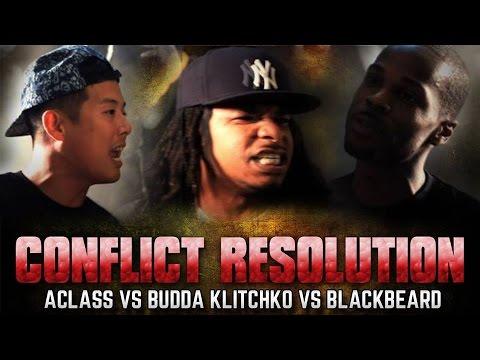 QUIETROOMBATTLE/QUEENZFLIP: ACLASS VS BLACK BEARD VS BUDDA KLITCHKO (WITH CROWD REACTION)