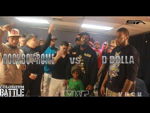 TCBL DRAFT CARD - D Dolla vs Rockboy Rome (1 Off)