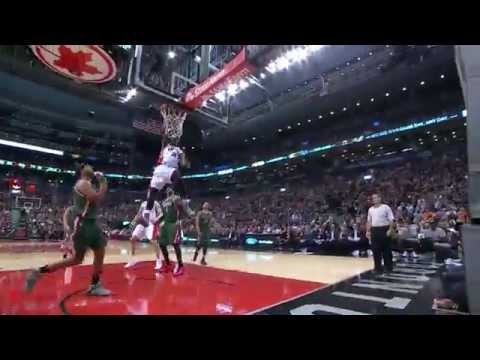 Terrence Ross Rattles the Rim with the Reverse Jam